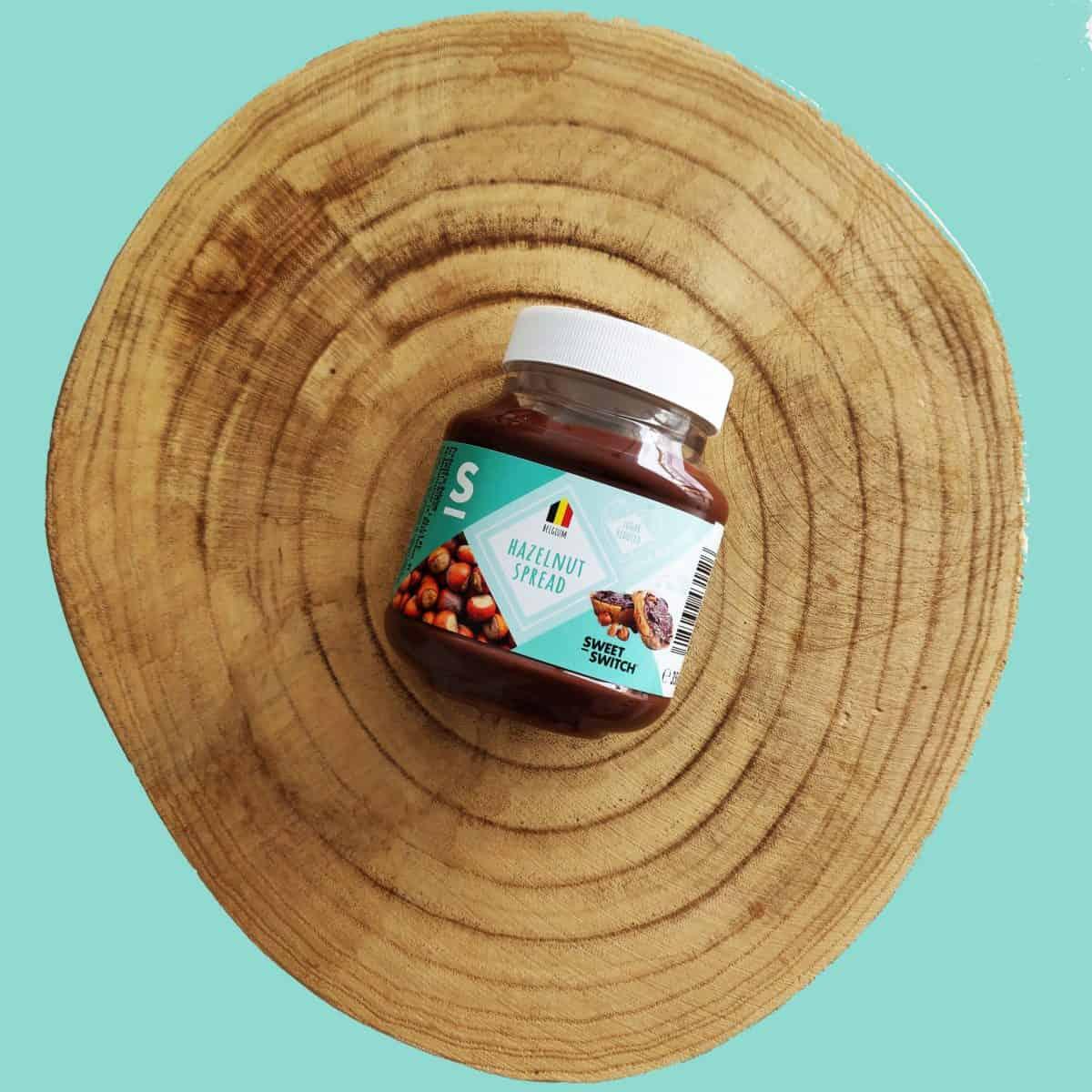 sugar free confectionery heaven SWEET-SWITCH hazelnut spread