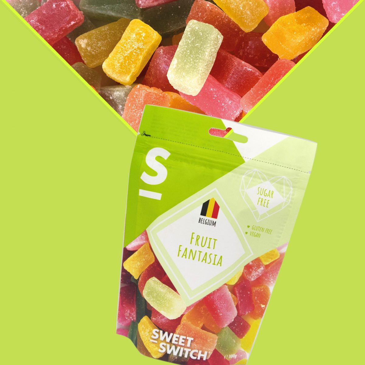 sugar free confectionery heaven Fruit Fantasia SWEET-SWITCH