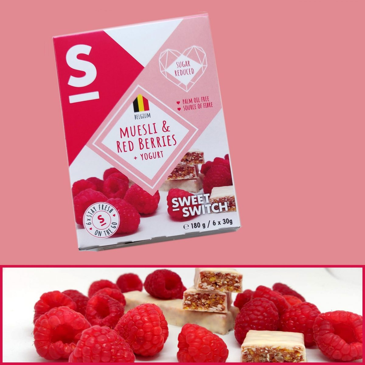 SWEET-SWITCH Muesli & red berries