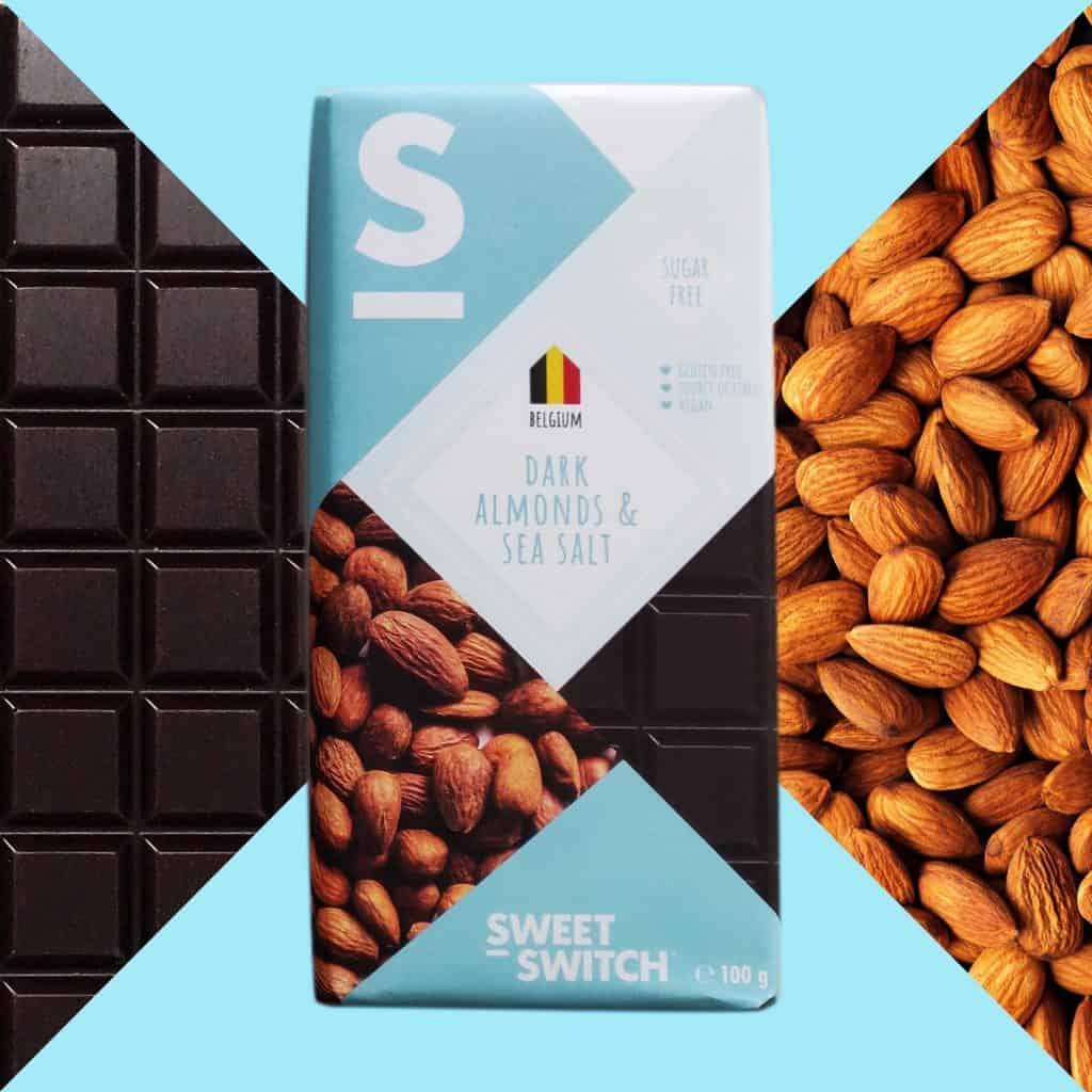 SWEET-SWITCH dark + almonds & sea salt