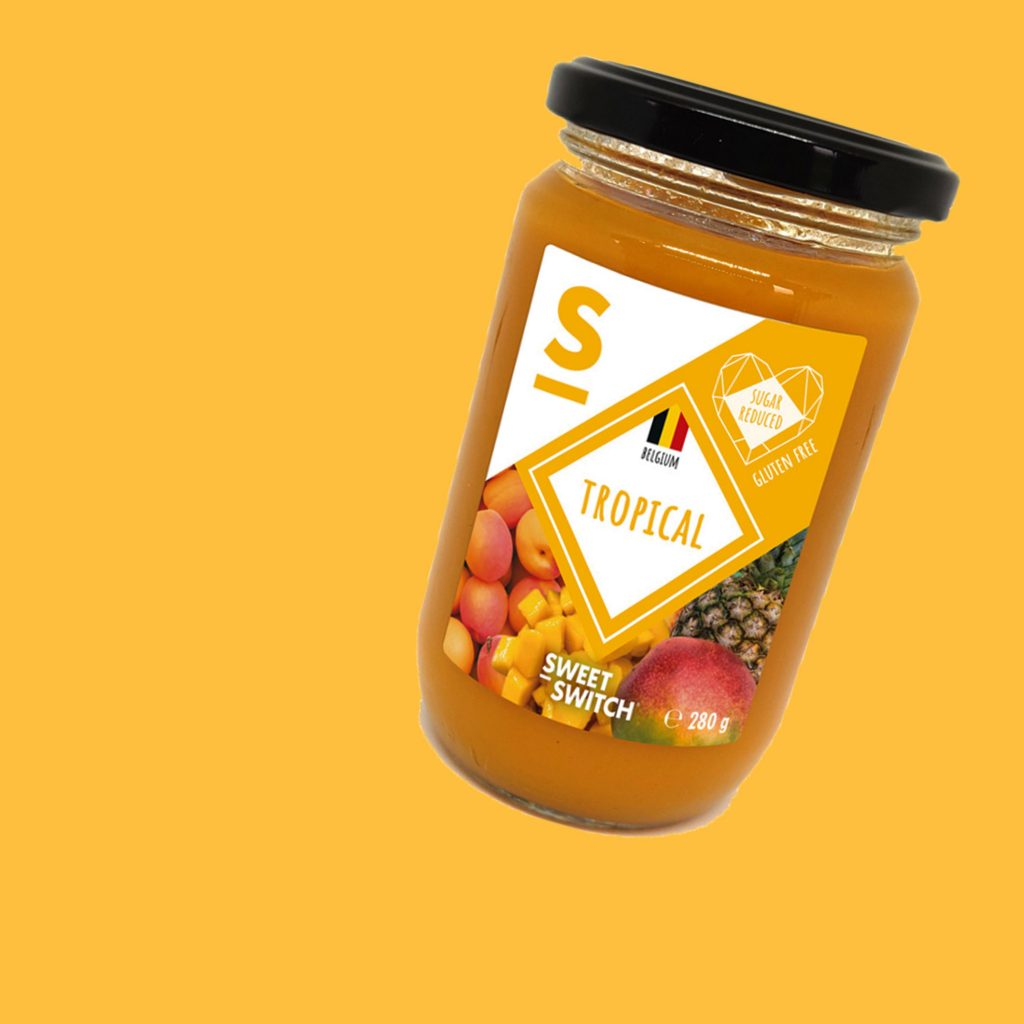 SWEET-SWITCH tropical fruit spread