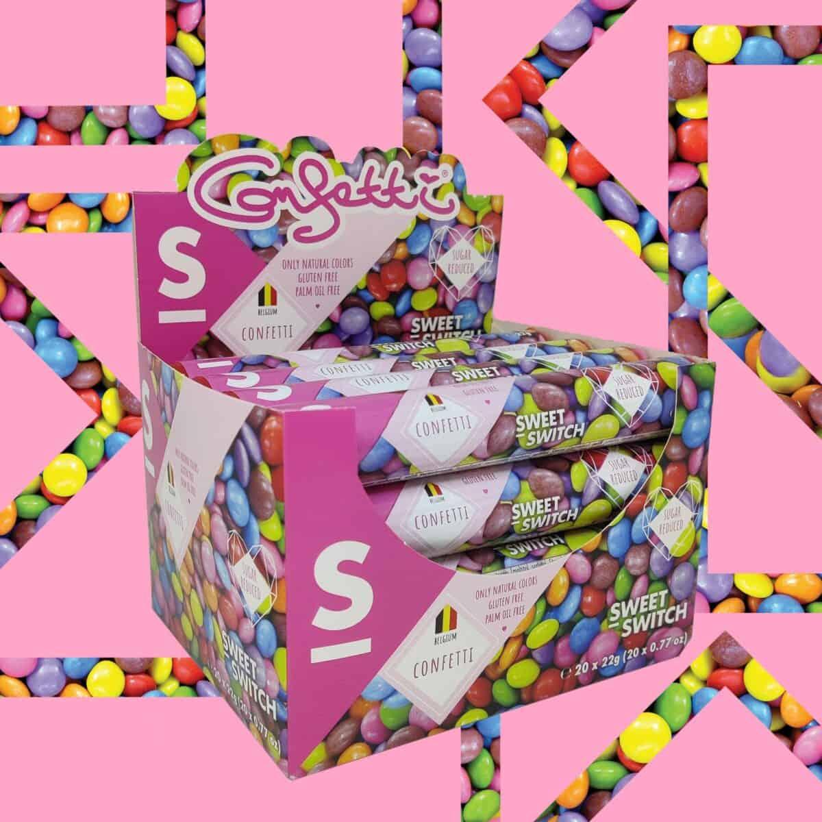 sugar free confectionery heaven SWEET-SWITCH Confetti