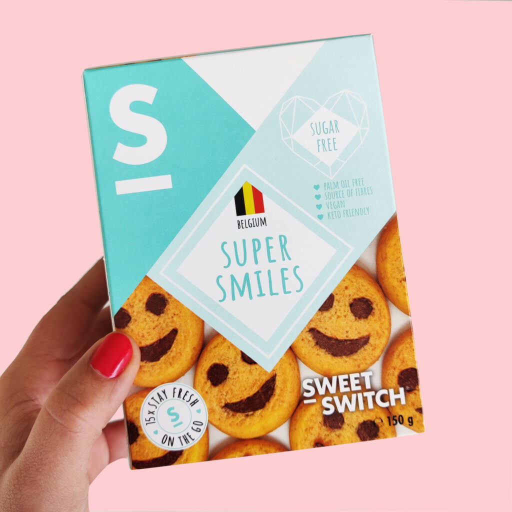 sugar free confectionery heaven SWEET-SWITCH Super Smiles