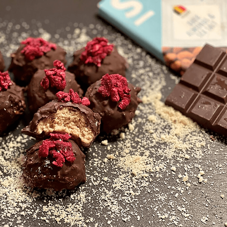 recipes & fabulous new(s) stuff SWEET-SWITCH® chocolate covered chestnut balls