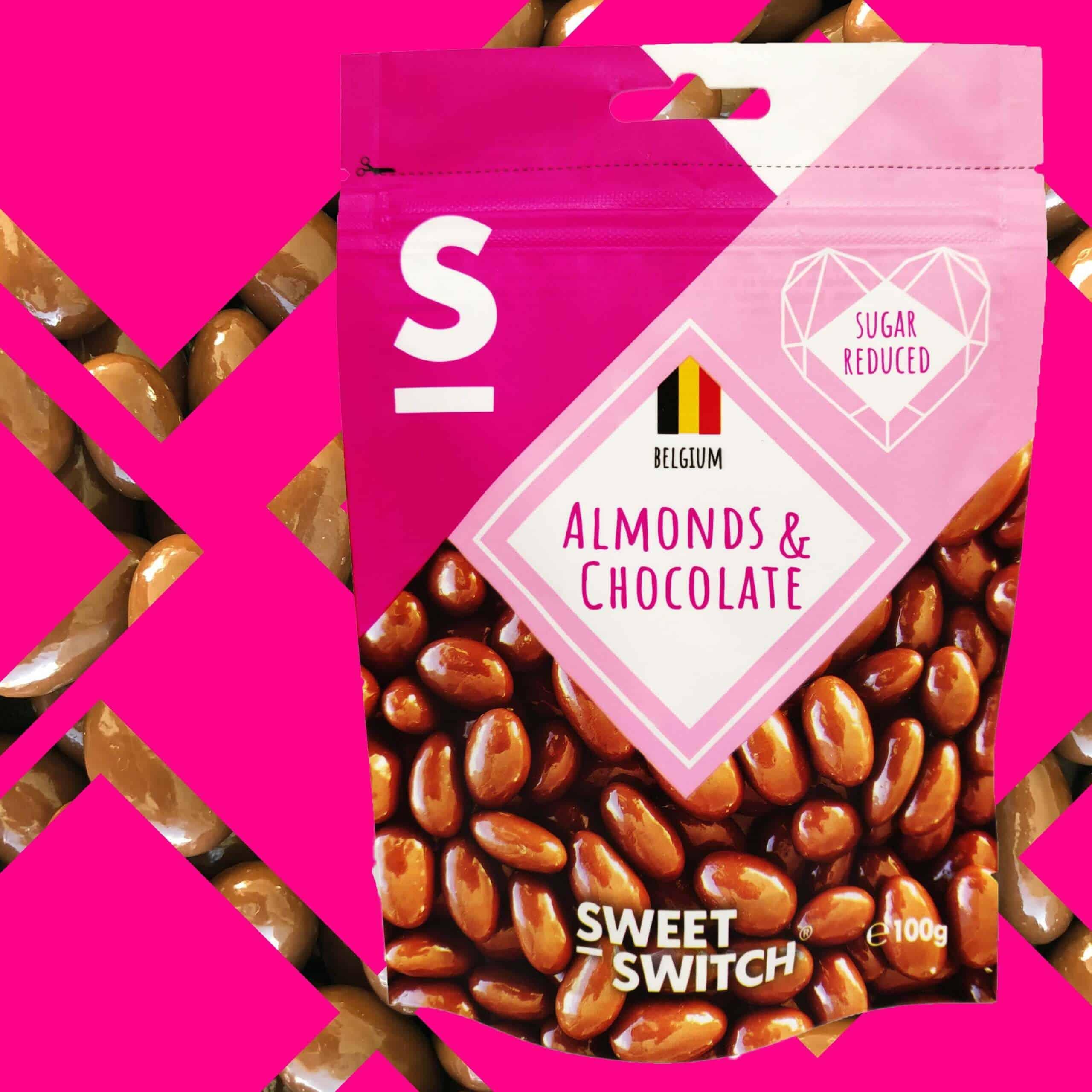 délices sans sucre SWEET-SWITCH®amandes au chocolat