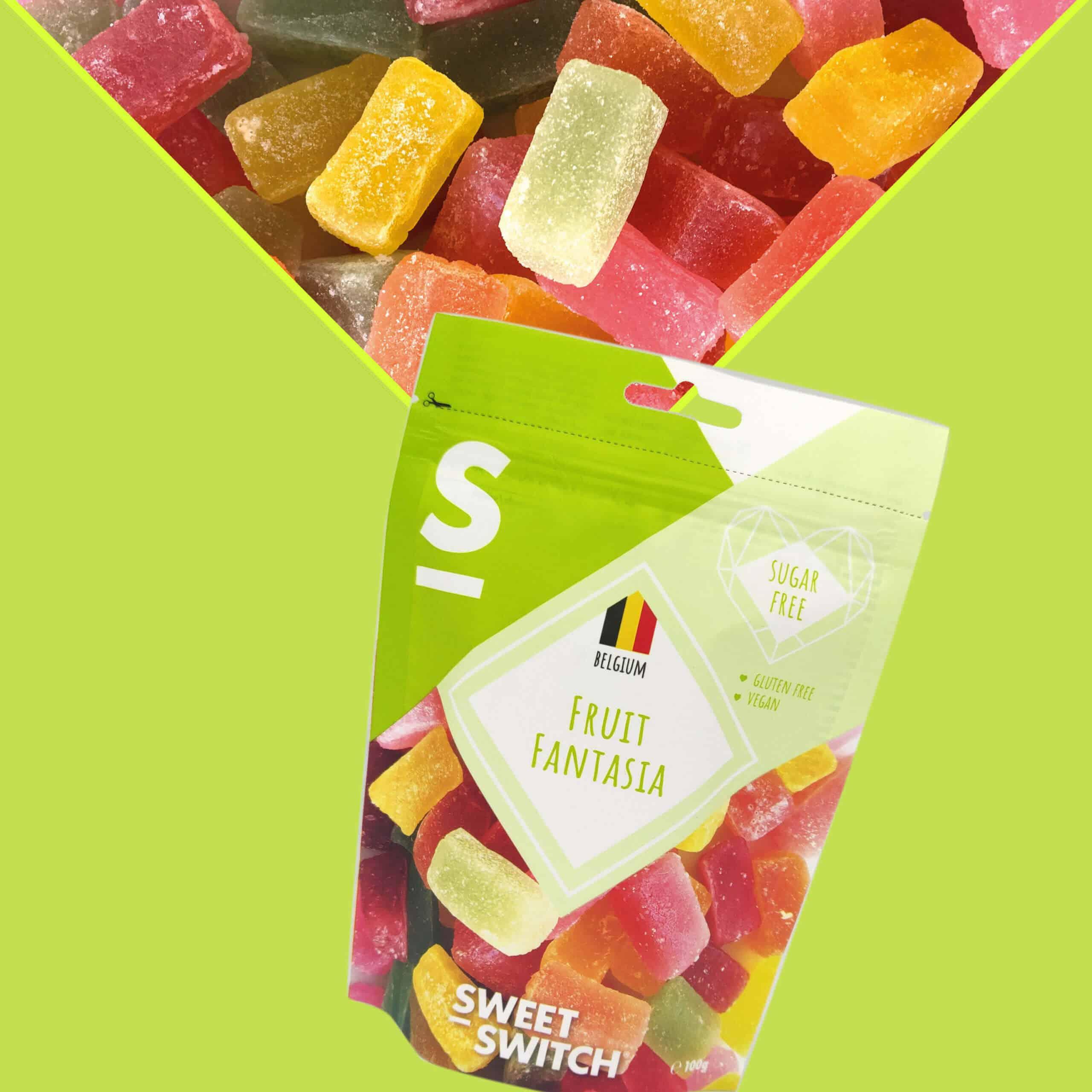délices sans sucre SWEET-SWITCH®Fruit Fantasia