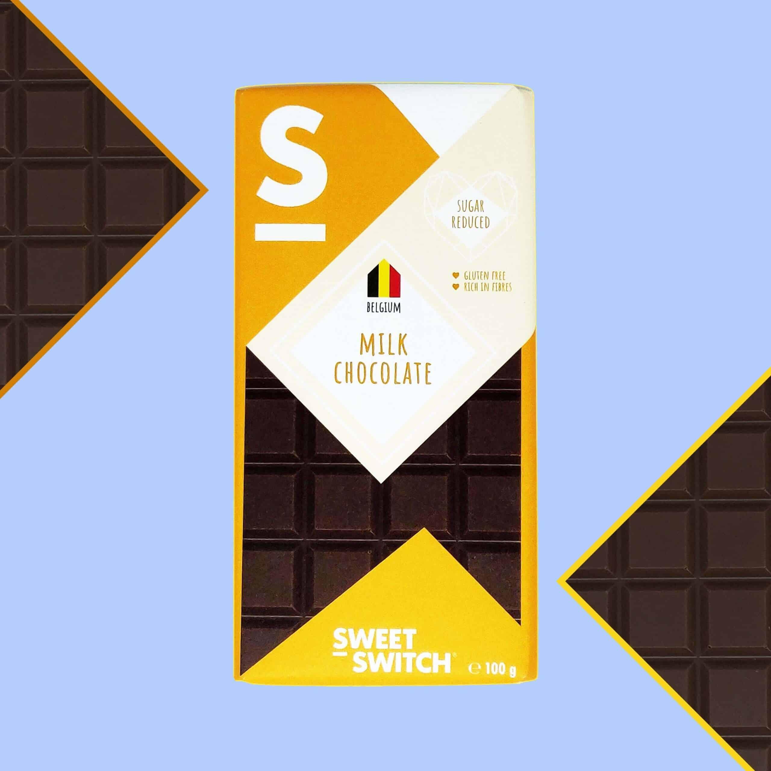 délices sans sucre SWEET-SWITCH® chocolat au lait