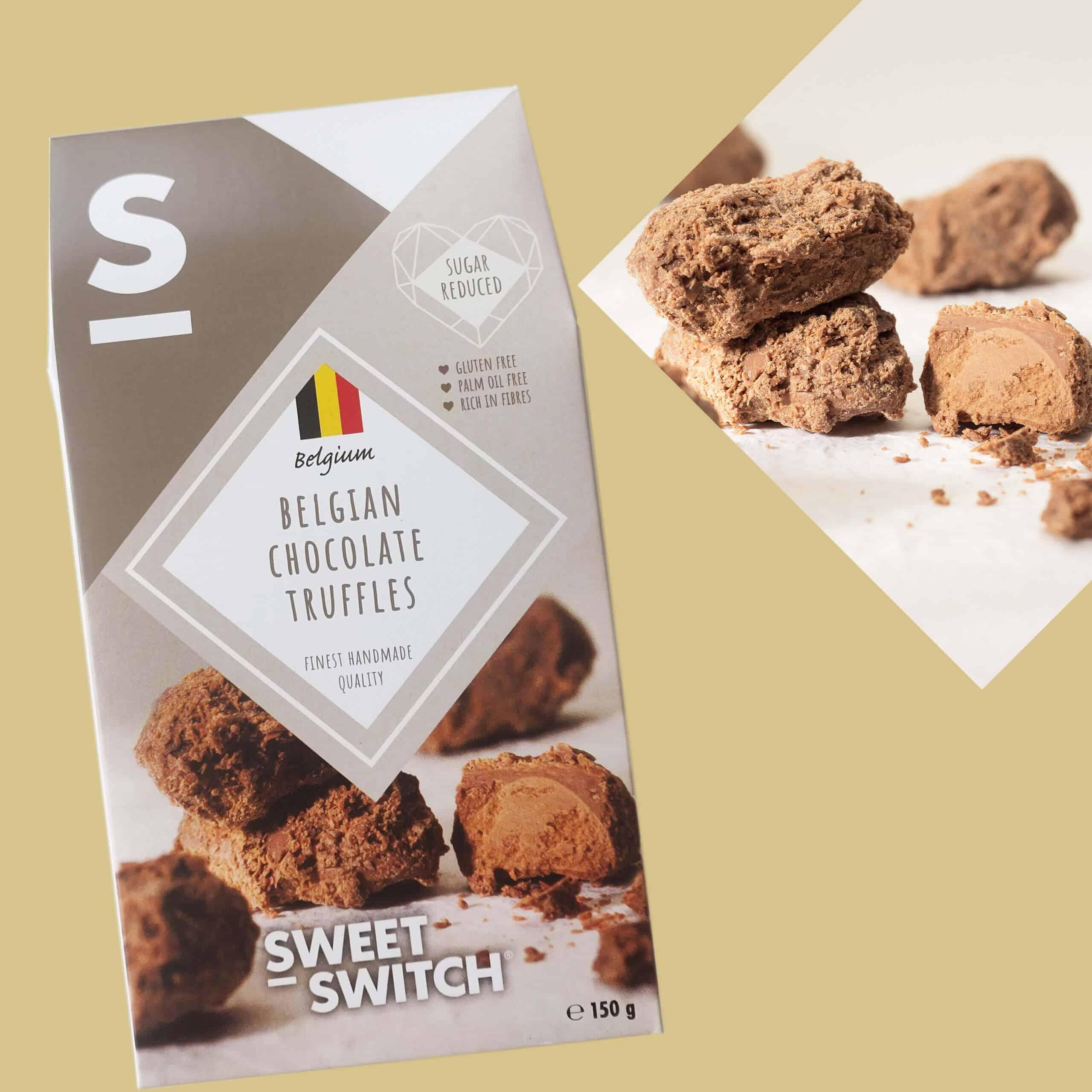 délices sans sucre SWEET-SWITCH®truffles