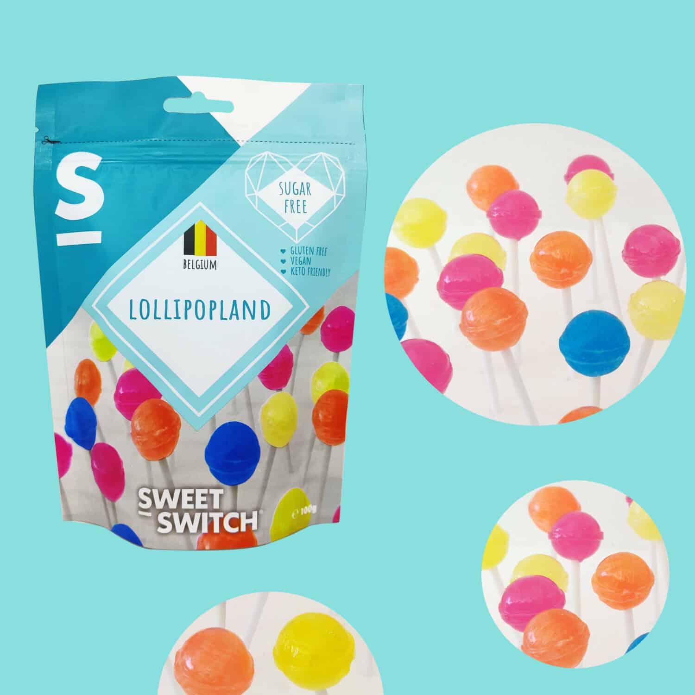 délices sans sucre SWEET-SWITCH®Lollipopland