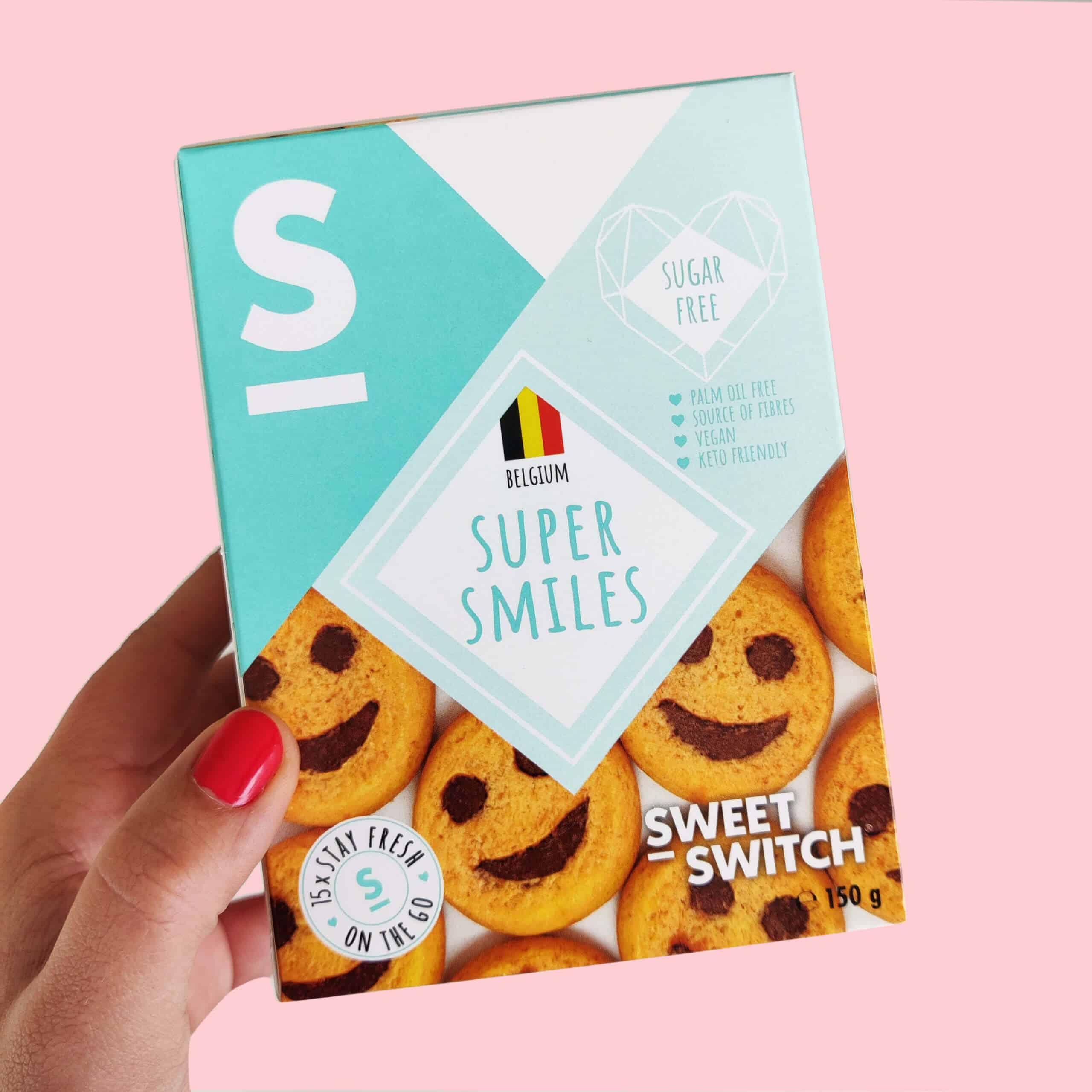 délices sans sucre SWEET-SWITCH®super sourire