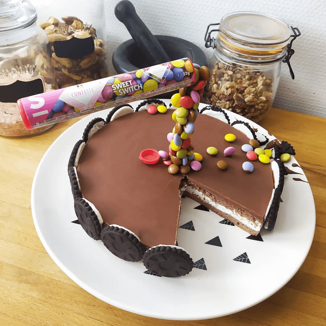 recettes & nouvelles gravity cake SWEET-SWITCH