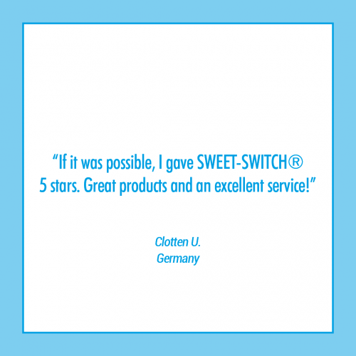 sugar free healthy confectionery Review SWEET-SWITCH