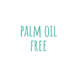 Logo palm oil free